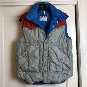 Incredible vintage Powderhorn mountaineering vest